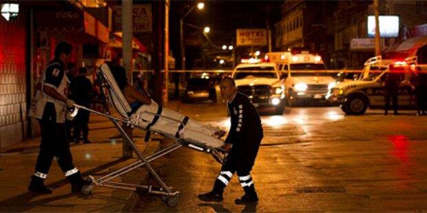 14 Tote im Drogenkrieg Mexikos