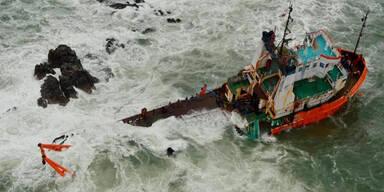 Schiffsunglück vor Indien