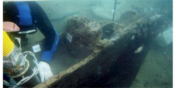 2.500 Jahre altes Schiff vor Sizilien geborgen