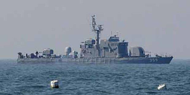 Südkoreanisches Marineschiff versenkt