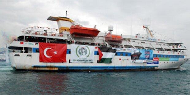 Protest-Flotte gegen Israel im Anmarsch