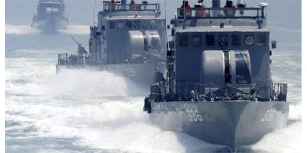 Seegefechte zwischen Nord- und Südkorea