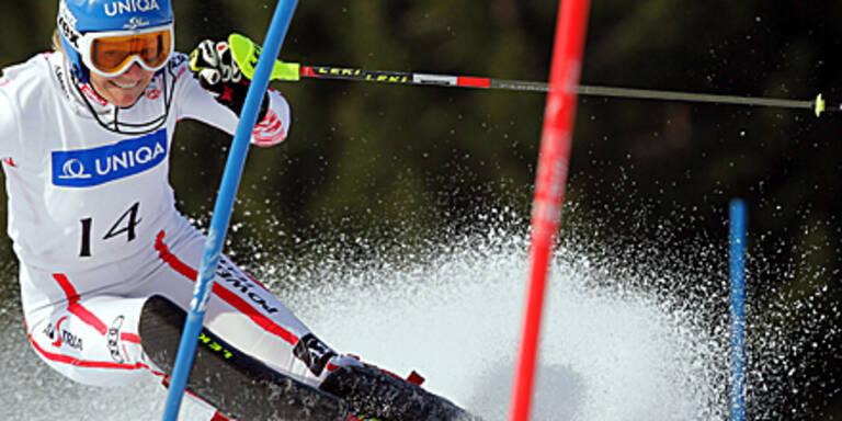 Schild, Pranger Slalom-Meister