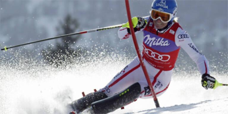 Schild holt mit Sieg Slalom-Weltcup