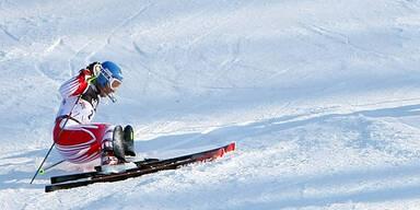 Schild am Knie verletzt - Keine Start im Aare-Slalom