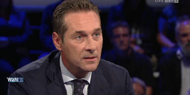 Glawischnig versus Strache: Rauer Tonfall