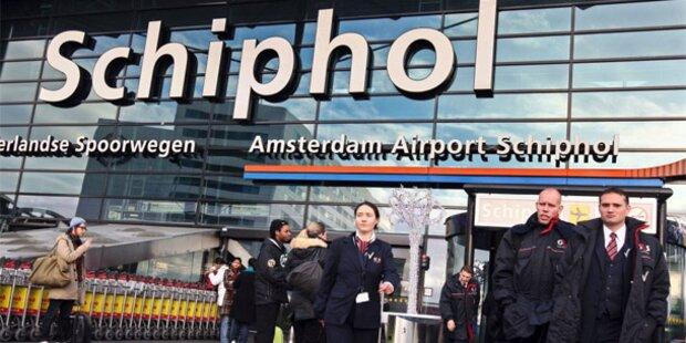 Bombenalarm: Flughafen Schiphol evakuiert