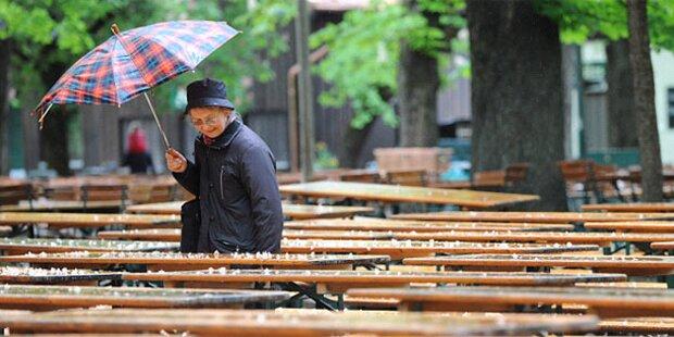 Regen und Abkühlung am Wochenende