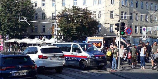 Massenschlägerei am helllichten Tag in Wien