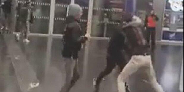Video zeigt brutale Schlägerei am Praterstern