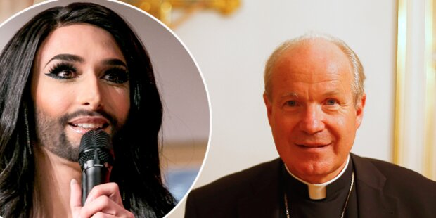 Kardinal Schönborn auf Conchitas Seite