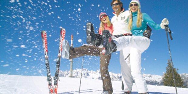 Die besten Skipisten in den Alpen