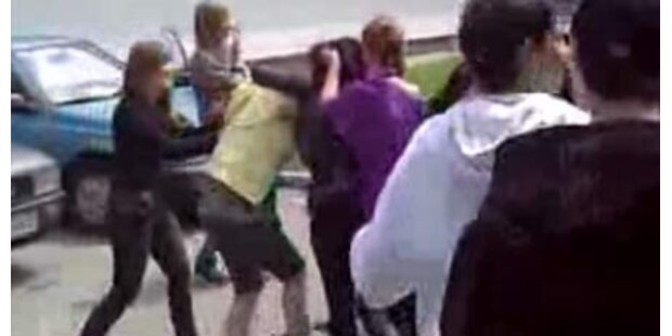 Schüler filmten Prügelei