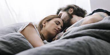 Frauen Schlaf