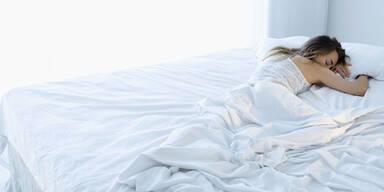 Ein helles Schlafzimmer macht dick