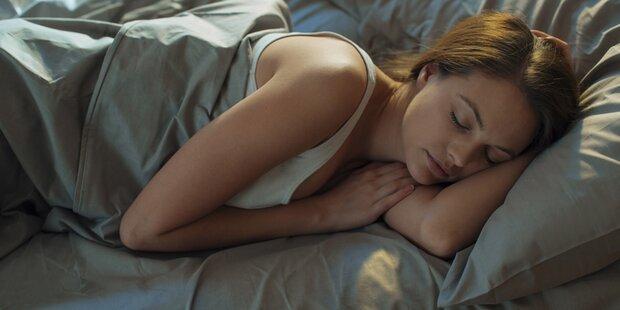 Das ist die ideale Schlafenszeit