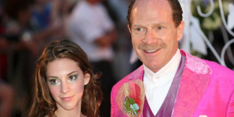 Martin Schlaff mit Tochter Naomi
