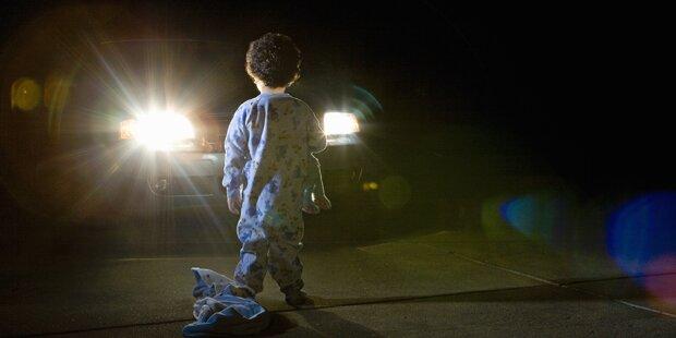 Kind wandelte 5 Kilometer im Schlaf