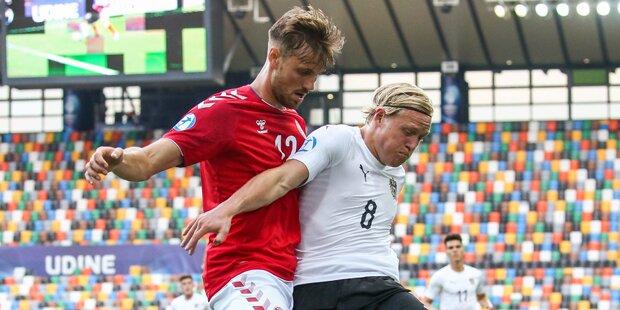 Dänen-Dämpfer für ÖFB-Youngsters