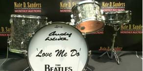 Beatles Schlagzeug kommt unter den Hammer