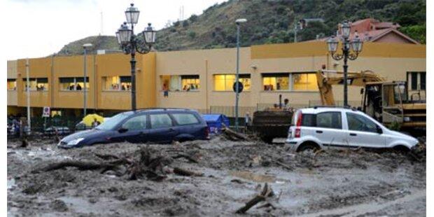 Schlammlawine auf Sizilien - 21 Tote