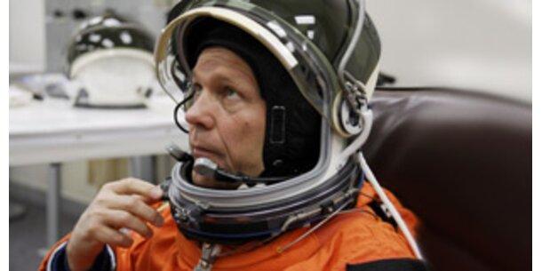 Wie weltraumkrank ist der deutsche Astronaut?