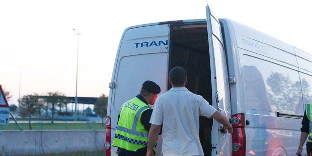 Trio schleppte 500 Menschen nach Österreich