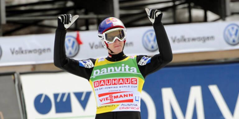 Schlieri sichert sich Skiflug-Weltcup