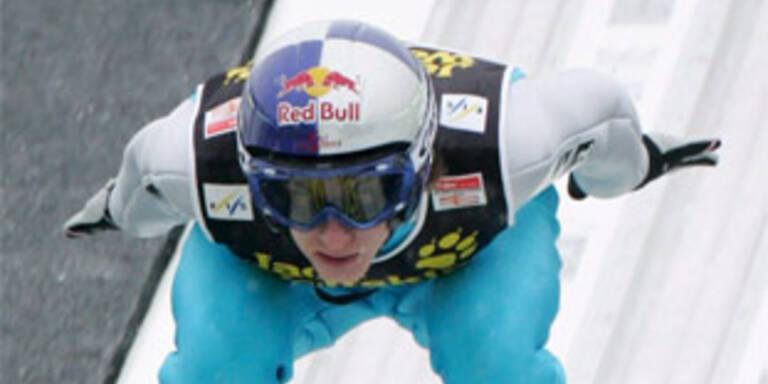 Schlierenzauer führt nach Garmisch-Triumph