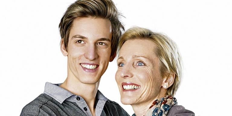 Süß! Schlieri wirbt mit seiner Mutter