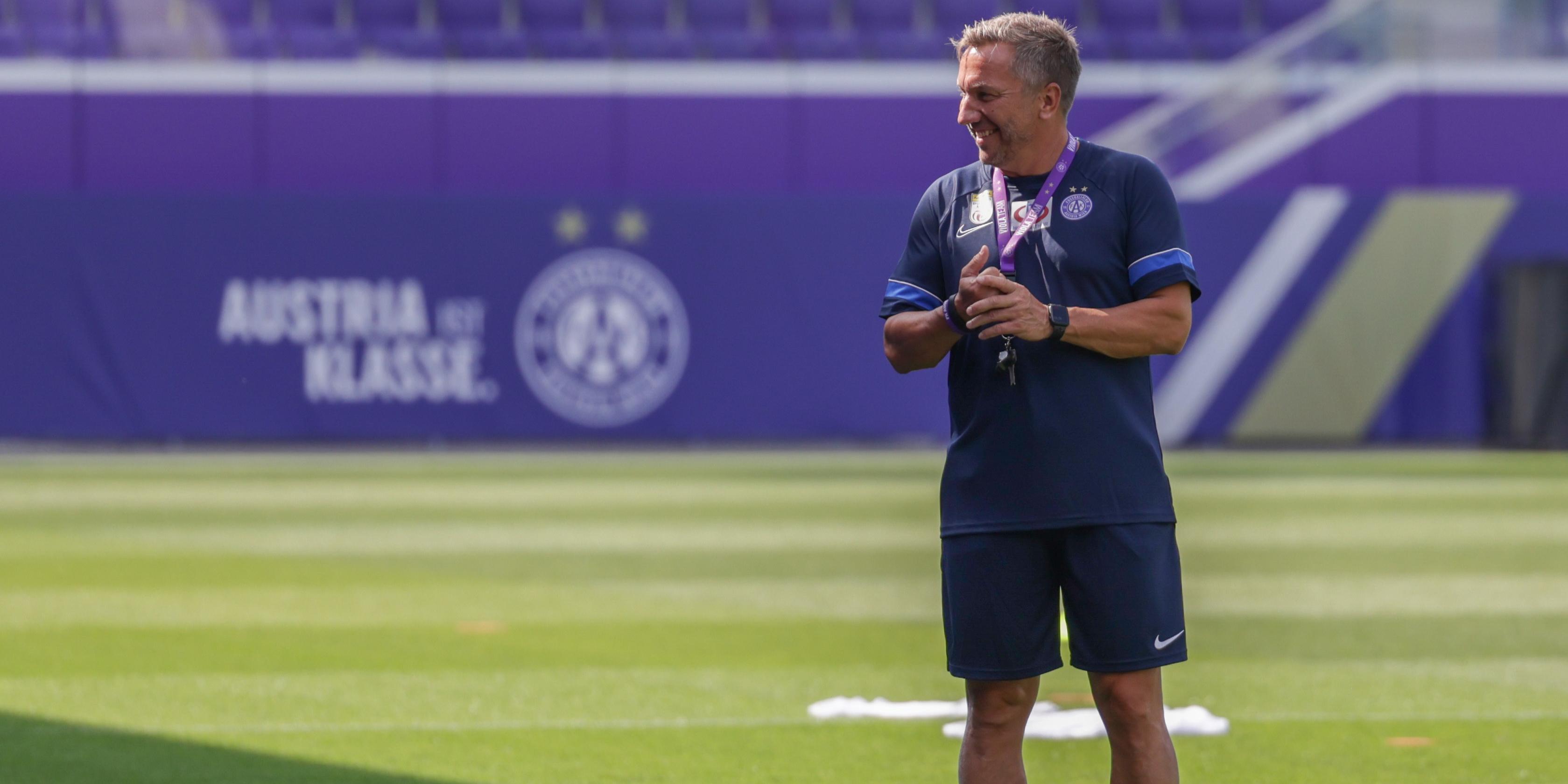 Austria-Trainer Manfred Schmid