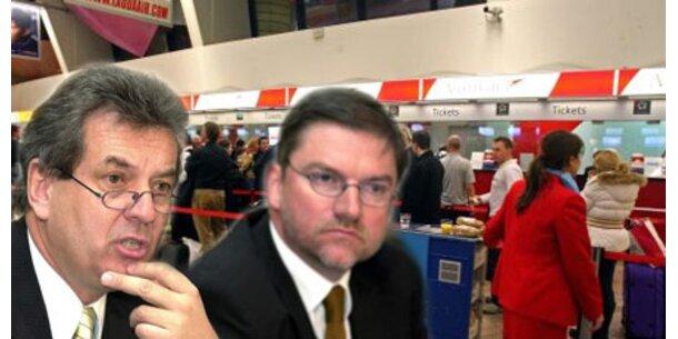 Flughafen-Vorstände bleiben bis 2014
