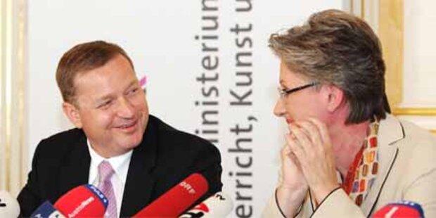 SPÖ und ÖVP Hand in Hand bei Schulpolitik