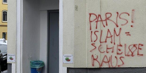 Moschee in Wien beschmiert