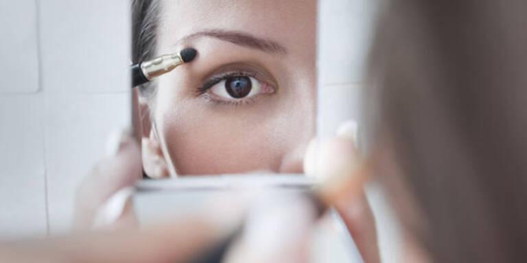 Make-up macht schneller alt