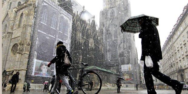 Italien-Tief bringt uns Schnee und Kälte