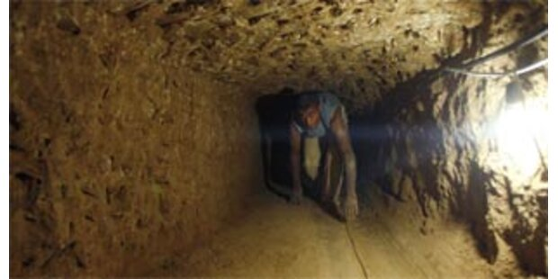 Fünf Tote bei Explosion im Schmuggel-Tunnel