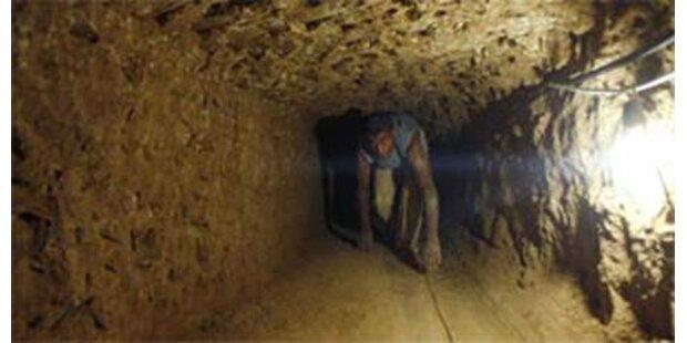 2 Schmuggler bei Tunnel-Einsturz getötet
