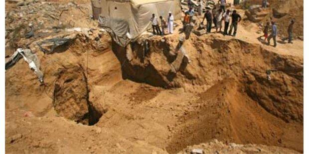 Schmugglertunnel eingestürzt - 3 Tote