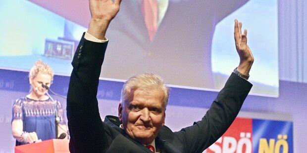 Franz Schnabl neuer Vorsitzender der SPÖ Niederösterreich