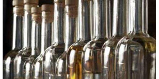 14-jähriger trinkt Dreviertelliter Schnaps