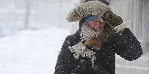 Halber Meter Neuschnee und 100 km/h Sturm