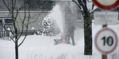 Semesterferien-Wetter: Neuschnee und Kälte