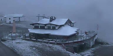 Schnee-Alarm in Österreich