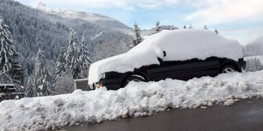 Neuschnee-Alarm in Österreich