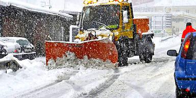 Wintereinbruch in Österreich bringt viel Schnee