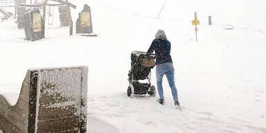 Beispielbild für Schnee am Wochenende