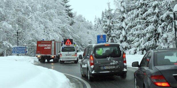 Schneemassen fordern einen Toten