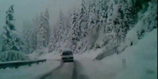 Heute vor drei Jahren fiel sogar Schnee