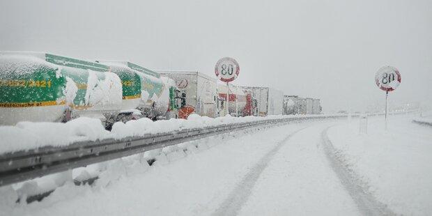 Wetter-Sturz bringt diese Woche Schnee